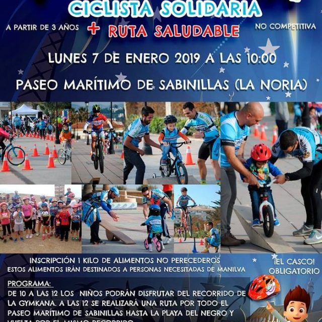 The V Gymkana Solidarity Cyclist and Healthy Route