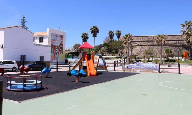Park & Play Area Castillo