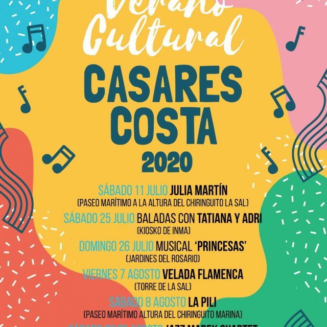 Casares Musical Events Summer 2020